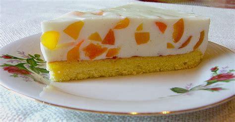 pfirsich quark kuchen blech pfirsich joghurt torte mit vanillehauch seelenschein