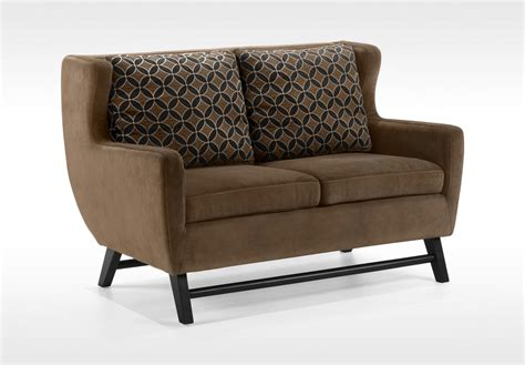 Midtown Sofa by Armen Living Midtown Sofa Set Rich Brown Fabric Lc10383br