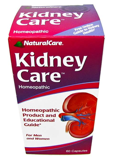 Kidney Care For by Care Kidney Care Homeopathic 60