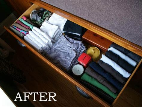 Organize Dresser Drawers by It Dresser Drawers Organizing Ideas