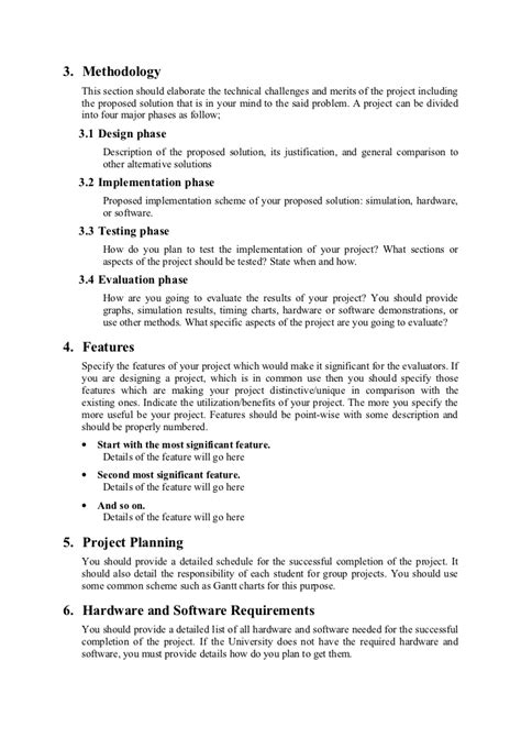 format for proposal writing o level proposal format