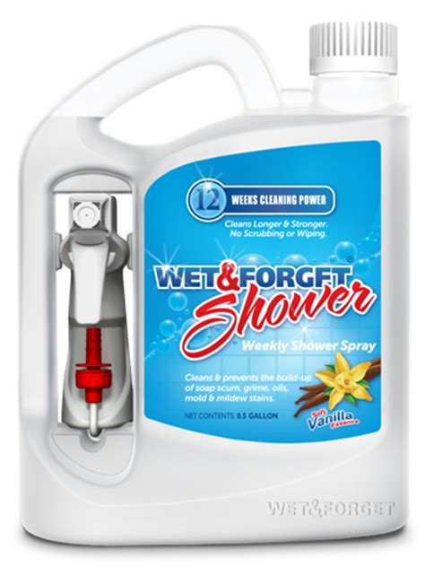 And Forget Shower Cleaner by New Age Forget Shower Review Giveaway