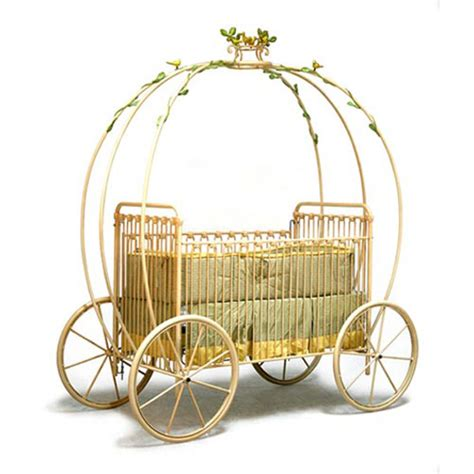 Carriage Baby Cribs Cinderella Carriage Crib Every Baby Princess Needs One Of These Extravaganzi