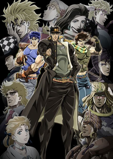 anime jojo crunchyroll video quot jojo s bizarre adventure part iii