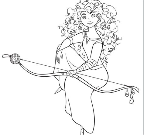 imagenes para colorear de princesas dibujos para colorear de las princesas disney merida and