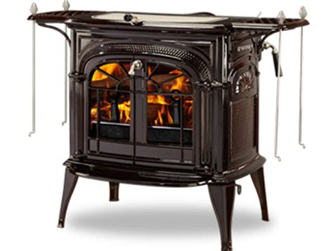 intrepid ii catalytic wood burning stove by vermont