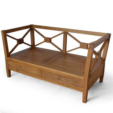 Sofa Kayu sofa kayu jati minimalis 2 dudukan kks 026 harga termasuk