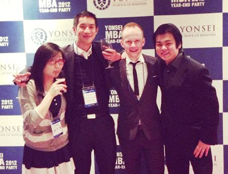 Yonsei Global Mba by Teaching Experience Helped Studying Mba