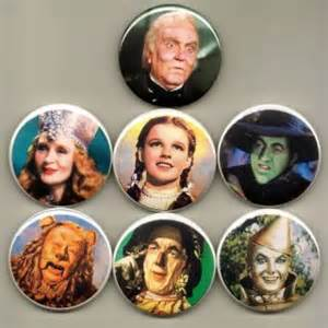 The wizard of oz characters bookmarks
