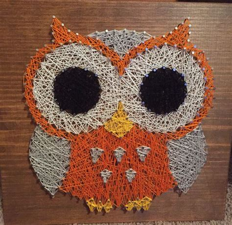 owl and string on