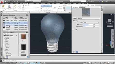 autocad tutorial youtube autocad tutorial light bulb modeling youtube