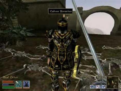 morrowind console morrowind console hacks 20 skeleton fight