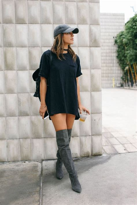 20 style tips on how to wear thigh high boots this fall