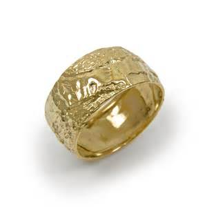 domed ring domed wedding ring 14k yellow gold ring wedding ring