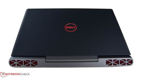 Laptop Dell Inspiron 7567 dell inspiron 15 7567 5372 notebookcheck net external