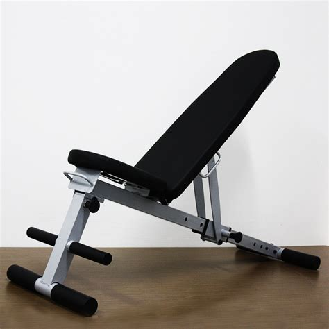 fitness gear sit up bench multifunctional folding dumbbell bench sit up board home