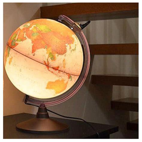 mappamondo da arredo globo luminoso mappamondo stile antico 30 cm marco polo