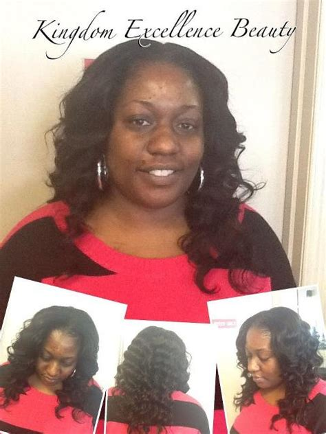 center part weave hairstyles pin center part sew in weave tutorial on pinterest