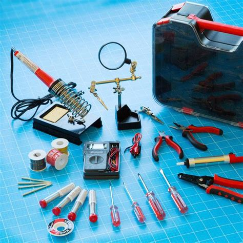 diy electrical engineering projects make it deluxe electronics tool kit craft diy