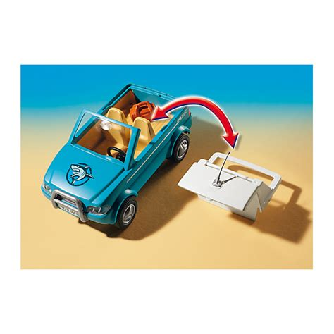 Playmobil Surfer With Speedboat Playmobil 6864 Surfer With Speedboat And