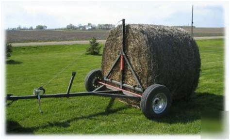doodlebug hay trailer bale buster hay bale mover carrier free shipping