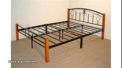 steel bed frame