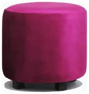 Pink Ottoman Glam Pink Velvet Ottoman Contemporary Footstools And Ottomans By Aroopy Inc