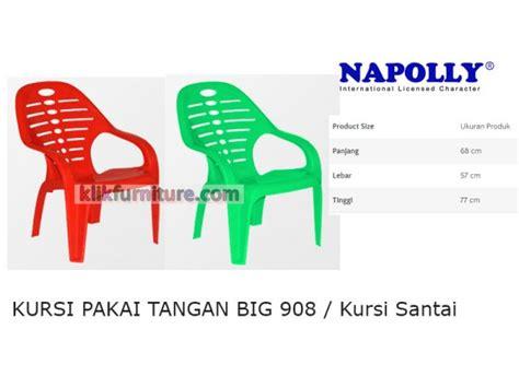 Kursi Plastik Untuk Santai big 908 napolly kursi tangan santai plastik harga promosi