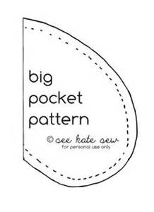 Pocket Template For Sewing by 1000 Images About Sewing Pocket Patterns On