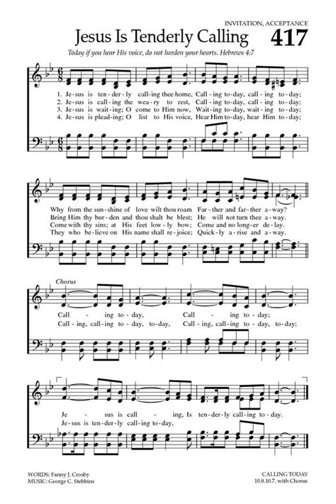 Jesus Is Calling | Hymnary.org