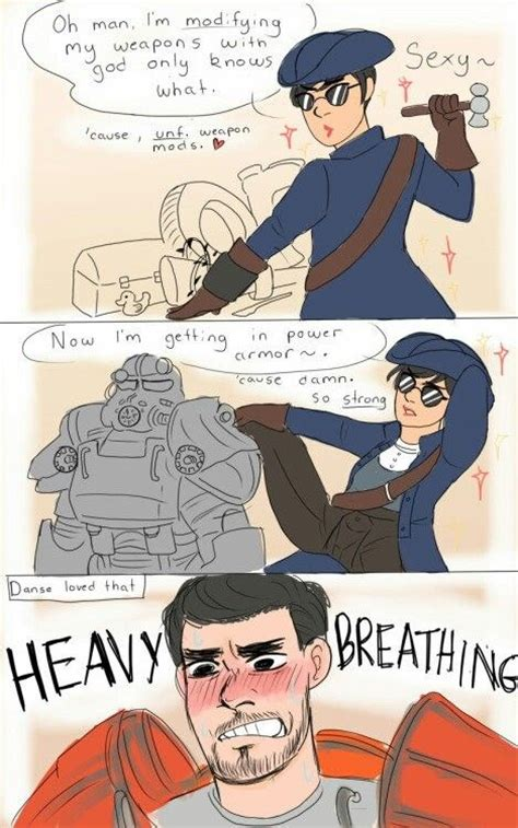 Fallout Kink Meme - danse romancers be like just gaming stuff