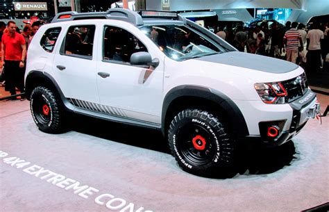 renault duster 4x4 renault duster 4x4 extreme concept concept cars