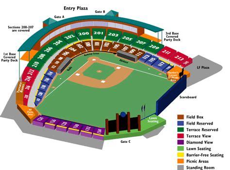 greensboro grasshoppers seating chart louisville bats v durham bulls pines baseball folio