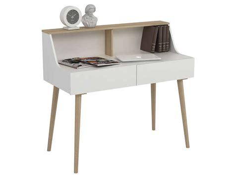 table bureau conforama bureau 2 tiroirs scandy vente de bureau conforama