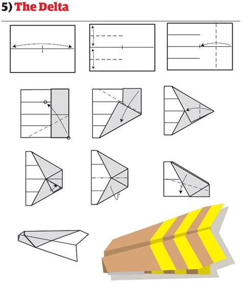 How To Make A The Best Paper Airplane - how to build the world s best paper airplanes