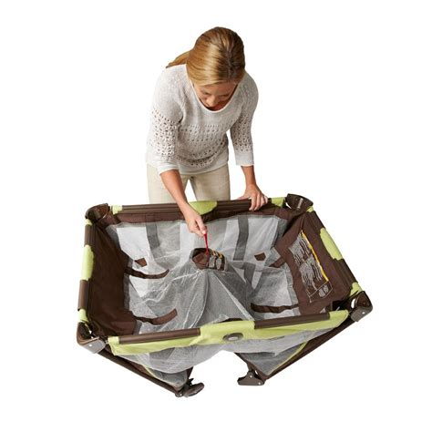 how to make a pack n play more comfortable new graco pack n play on the go travel playard baby
