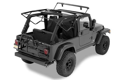 black jeep wrangler unlimited soft top bestop ck supertop nx soft top with upper door