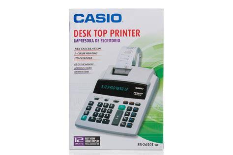 Kalkulator Casio Fr 2650 jual casio fr 2650t jual casio printable fr 2650t di