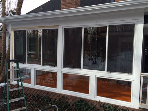 want to convert your deck to a porch suburban boston decks and belk builders completes a screened porch to sunroom