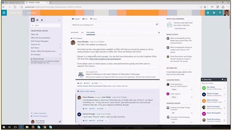 office 365 tips and tricks yammer