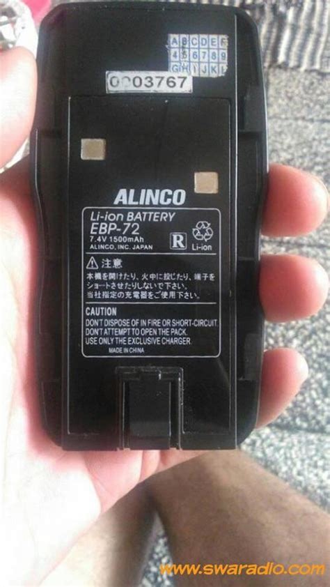 Baterai Alinco Dj 195196495596 dijual baterai alinco dj 175 masih bagus swaradio