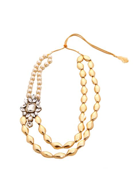 Layered Necklaces The Accessory by Shillpa Purii Brooch Layered Necklace Shop