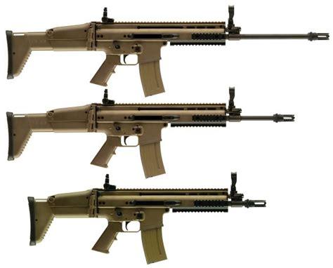 Gun L fn scar mk 16 and mk 17 special forces combat assault rifle usa belgium