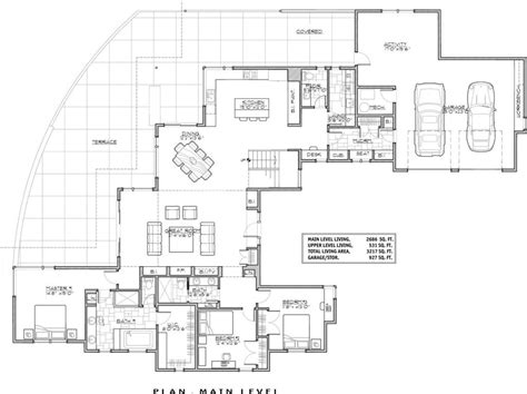 luxury luxury modern house floor plans new home plans design