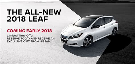 passport nissan md the all new 2018 nissan leaf coming to passport nissan md