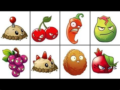 plants vs zombie en fomix plants vs zombies 2 todas las plantas explosivas del juego