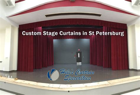 custom stage curtains custom stage curtains in st petersburg fl hiles curtains