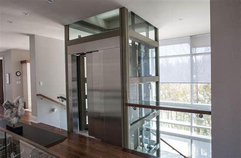 glass hydraulic door luxury residential glass elevator home elevators