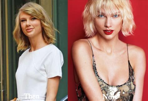 has taylor swift had a secret boob job insiders reveal taylor swift plastic surgery before and after photos
