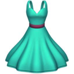 dress emoji (u+1f457)